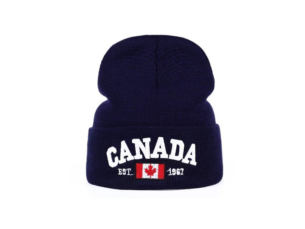 zimní čepice Kanada