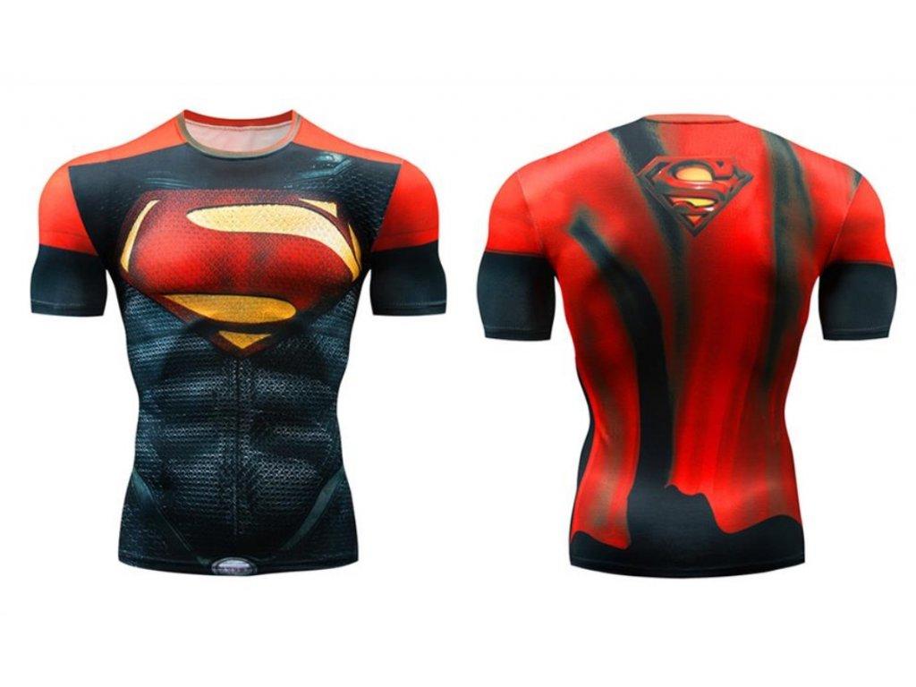 fitess tričko superman 3