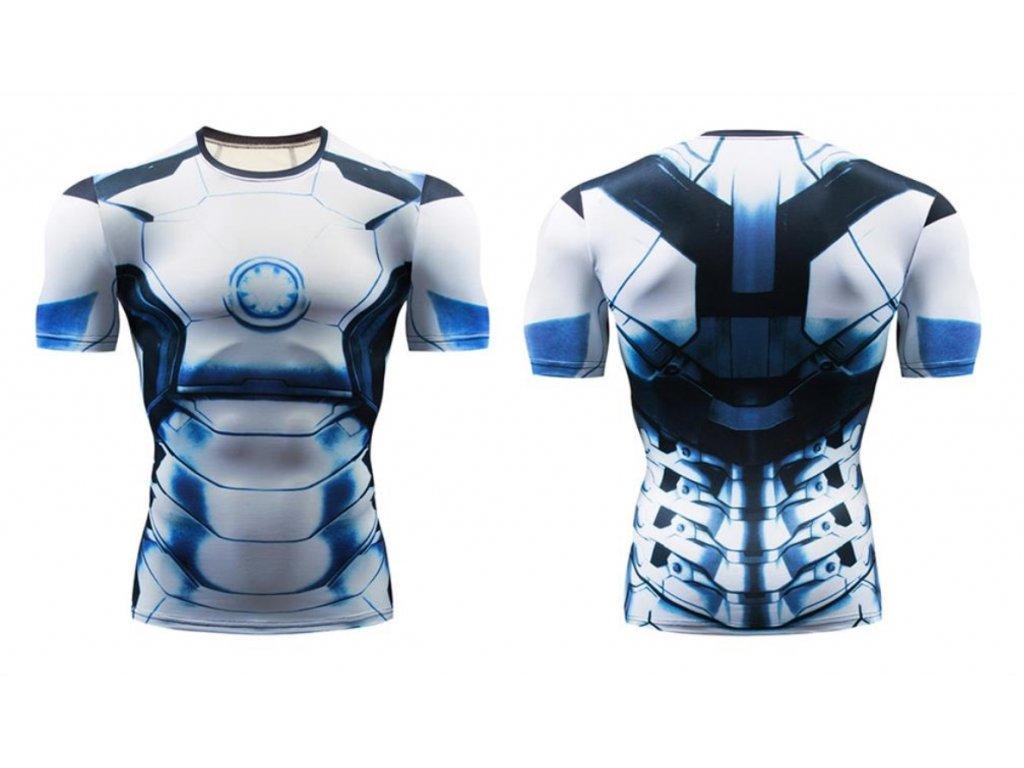 fitess tričko iron man
