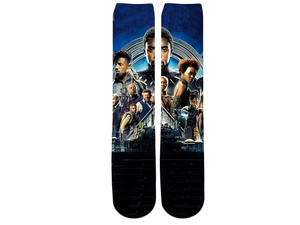 ponožky balck panther