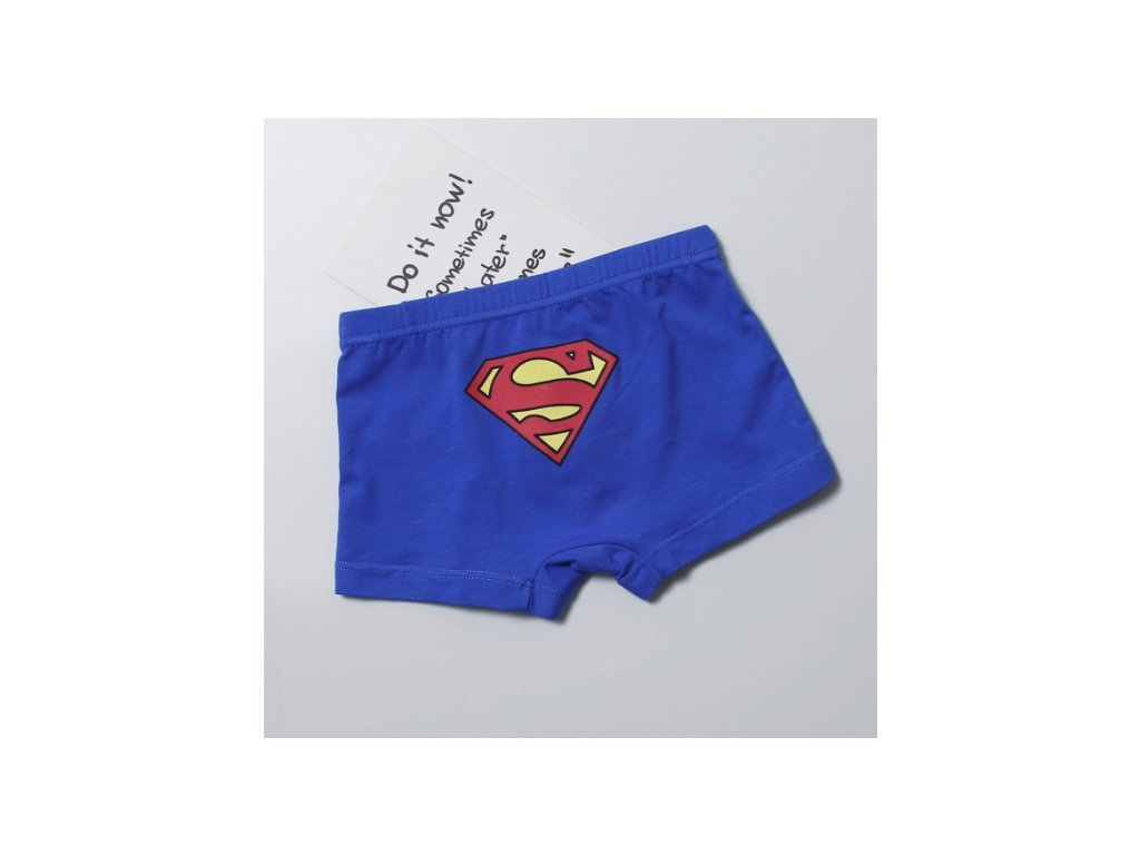boxerky superman blue