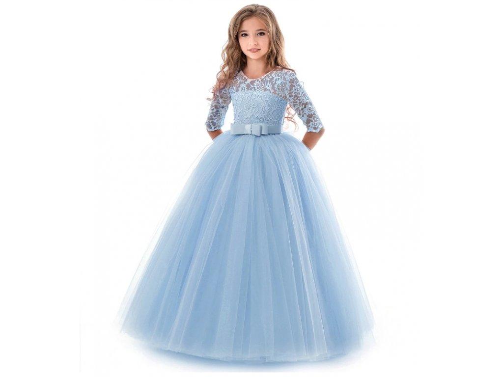 dívčí šaty blue