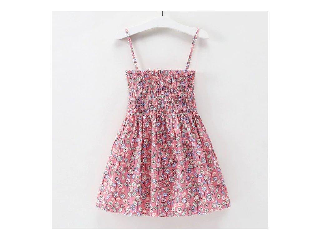 šaty flower