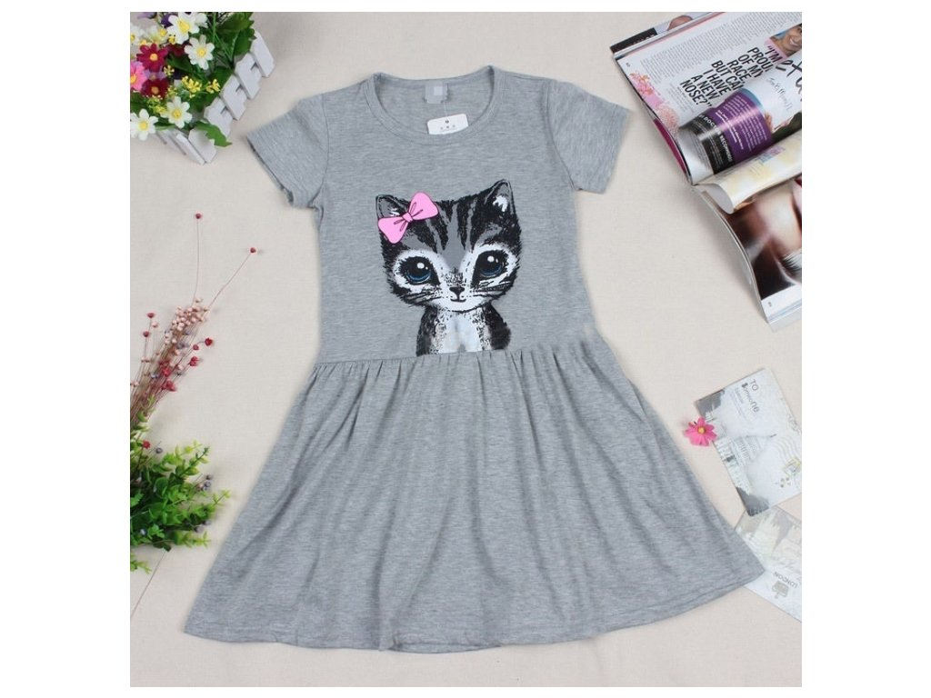 šaty grey