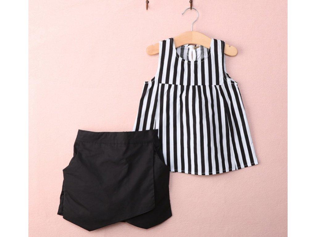 šaty blackwhite
