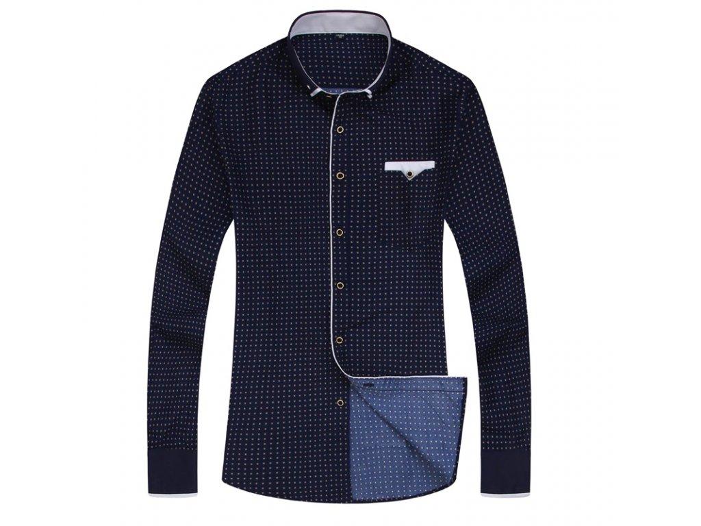 košile blue