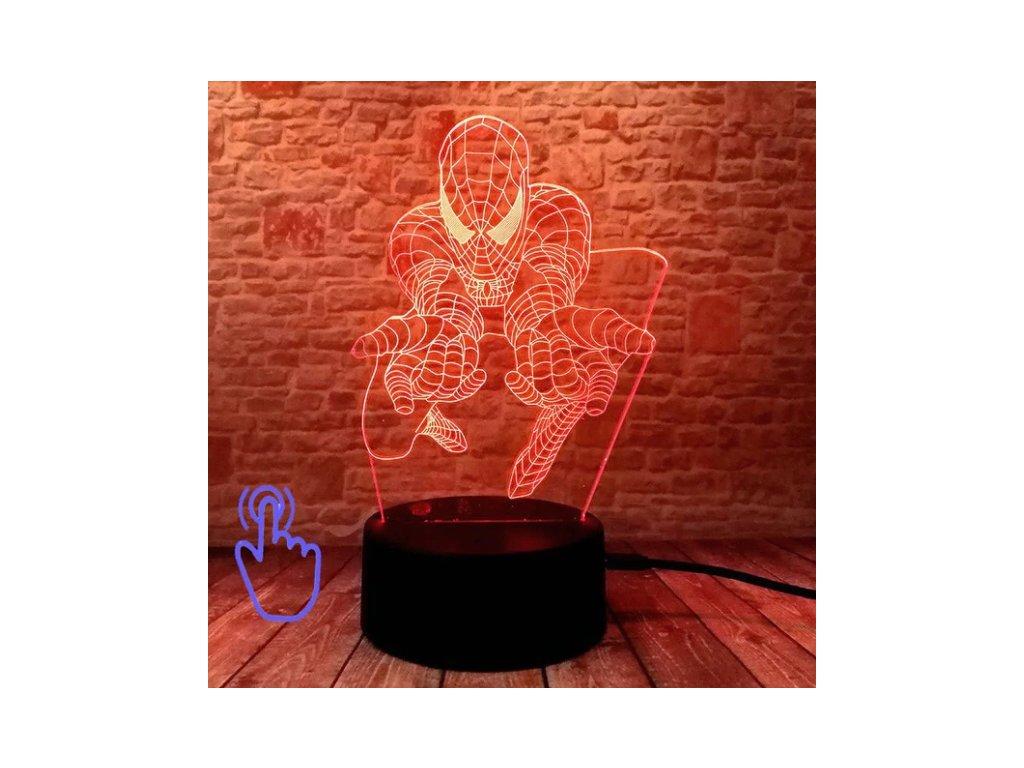 led maska spiderman 6