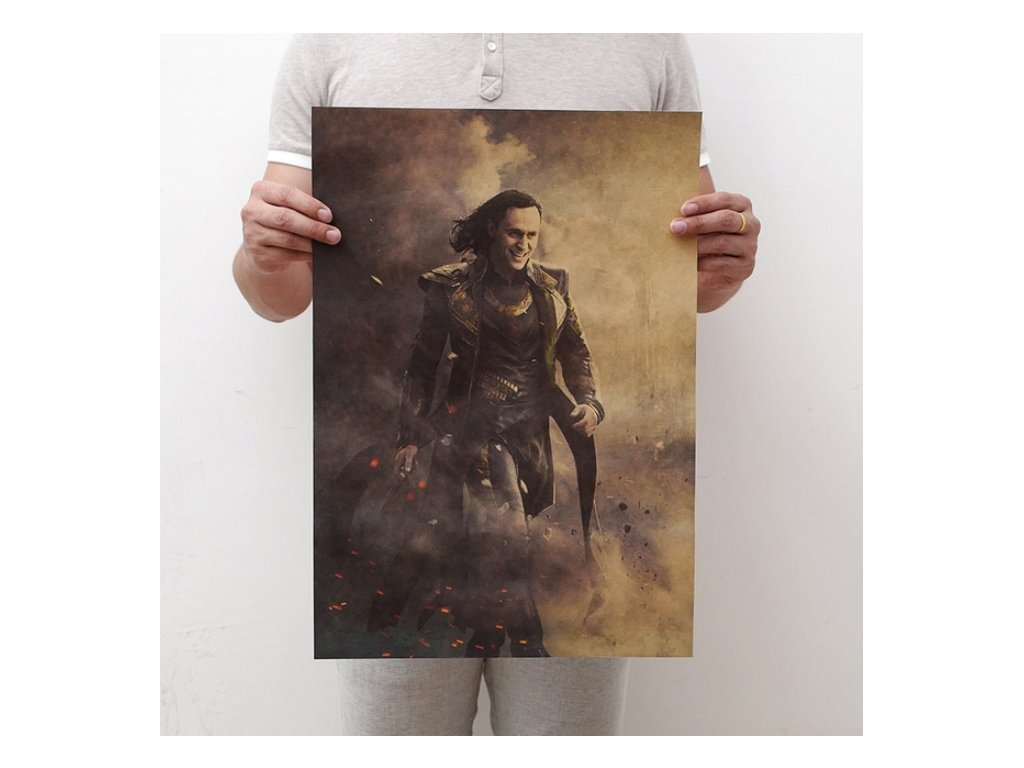 plakát Loki