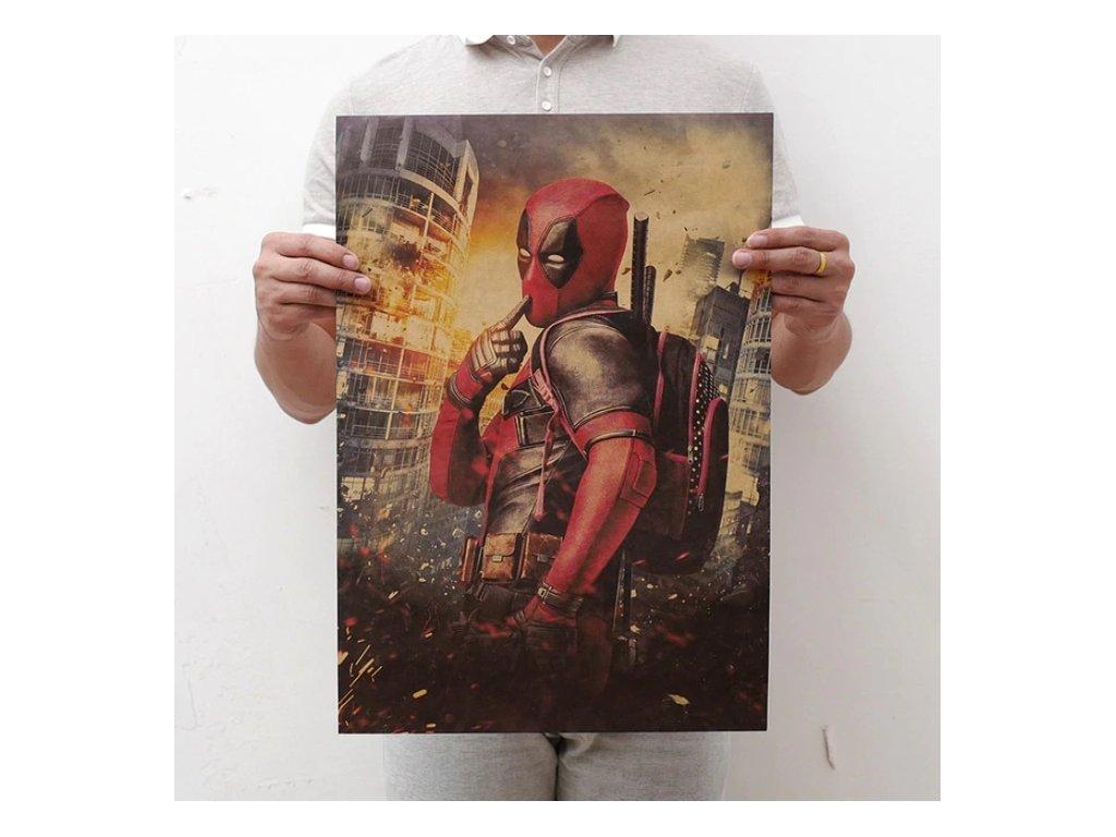 plakát deadpool