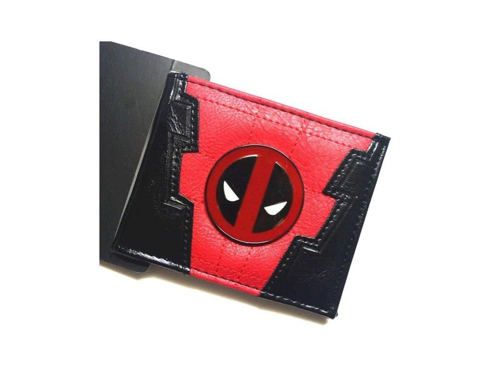 peněženka deadpool znak
