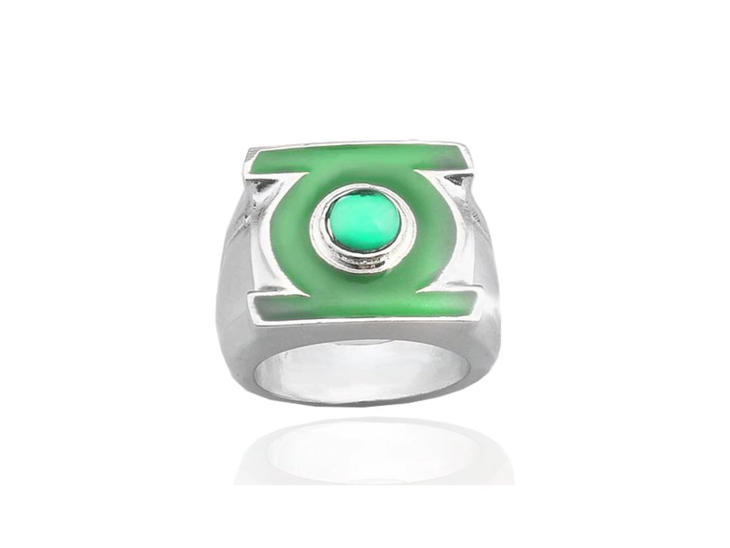prsten green lanther