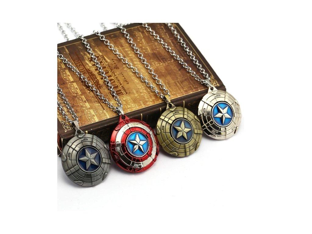 náhrdelník kapitán amerika 9
