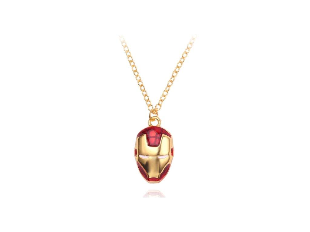 náhrdelník iron man