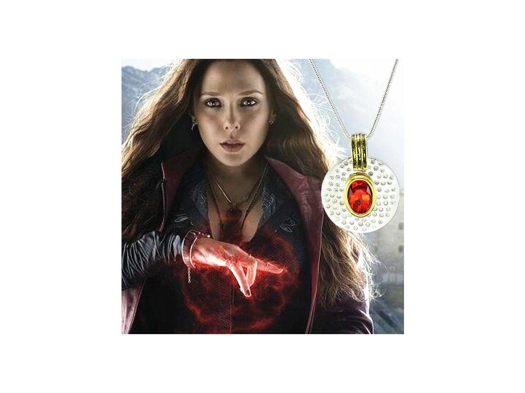 náhrdelník scarlet witch