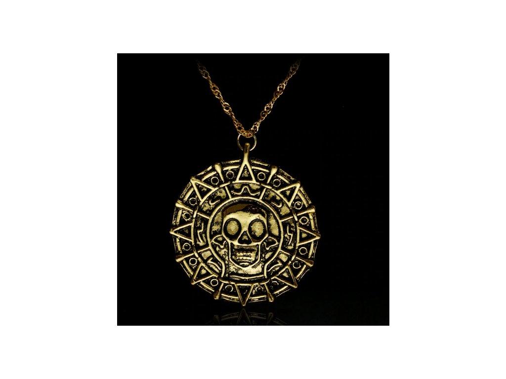 náhrdelník piráti z karibiku