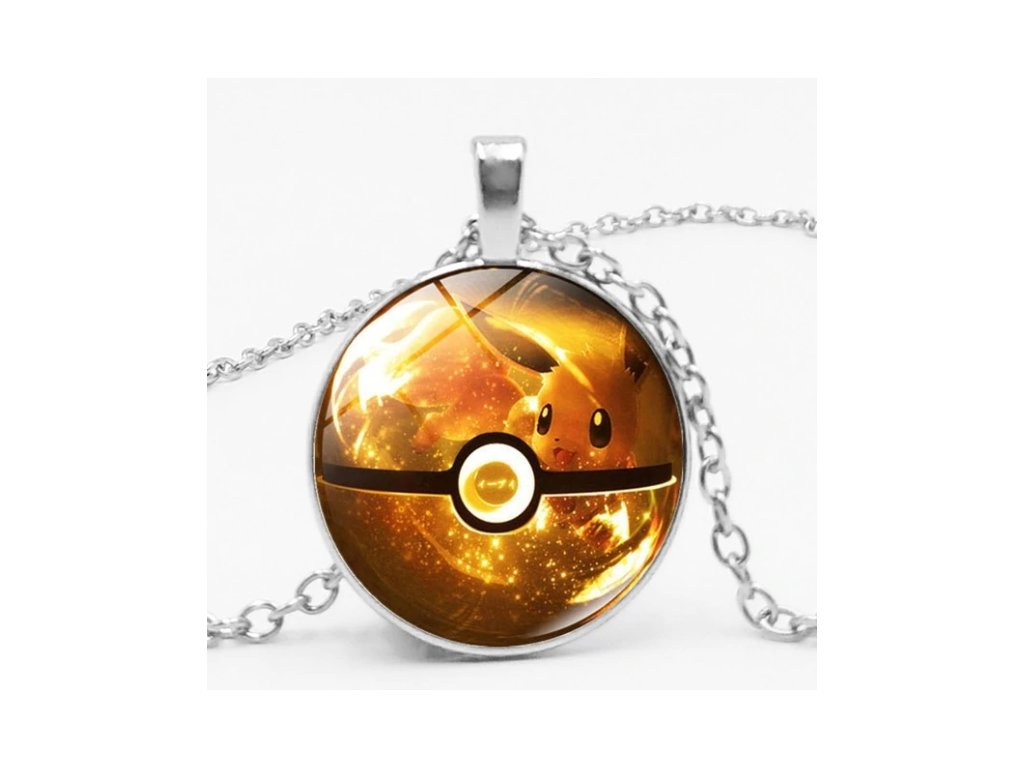 náhrdelník pokemon