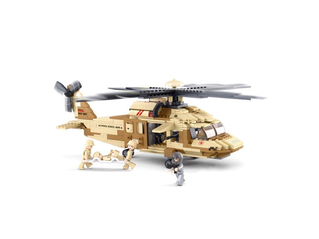 helikoptéra stavebnice
