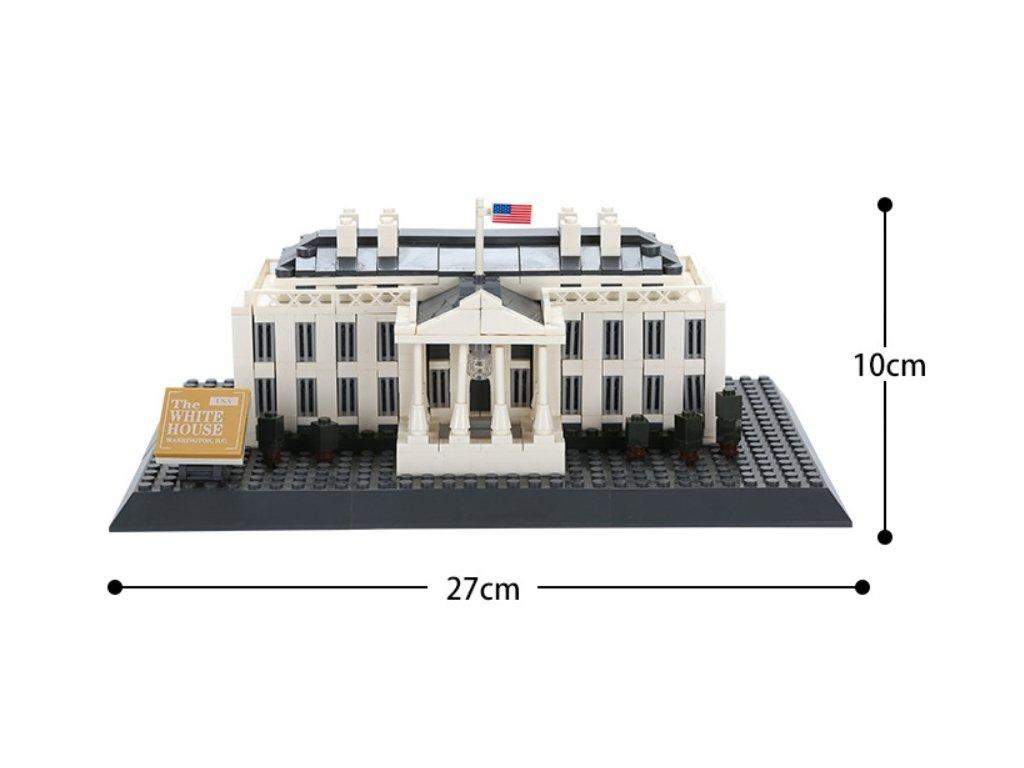 white house stavebnice