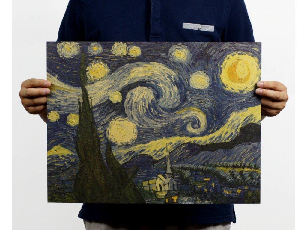 plakát hvezdna obloha