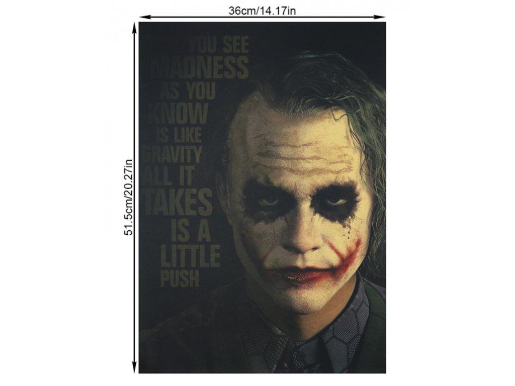 plakát Joker