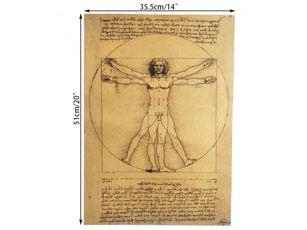 plakát Leonardo Da Vinci