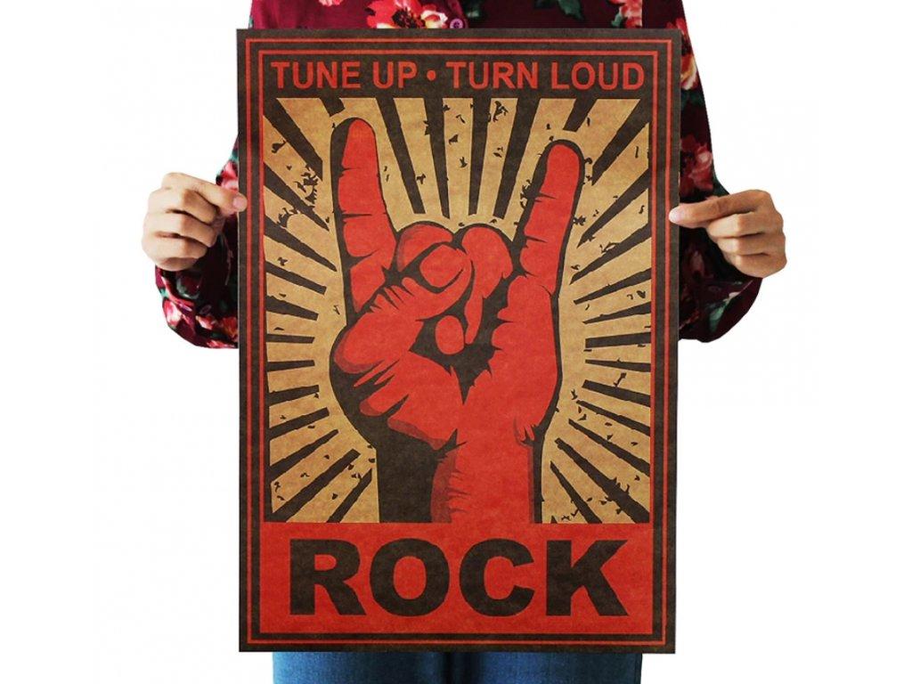 plakát rock