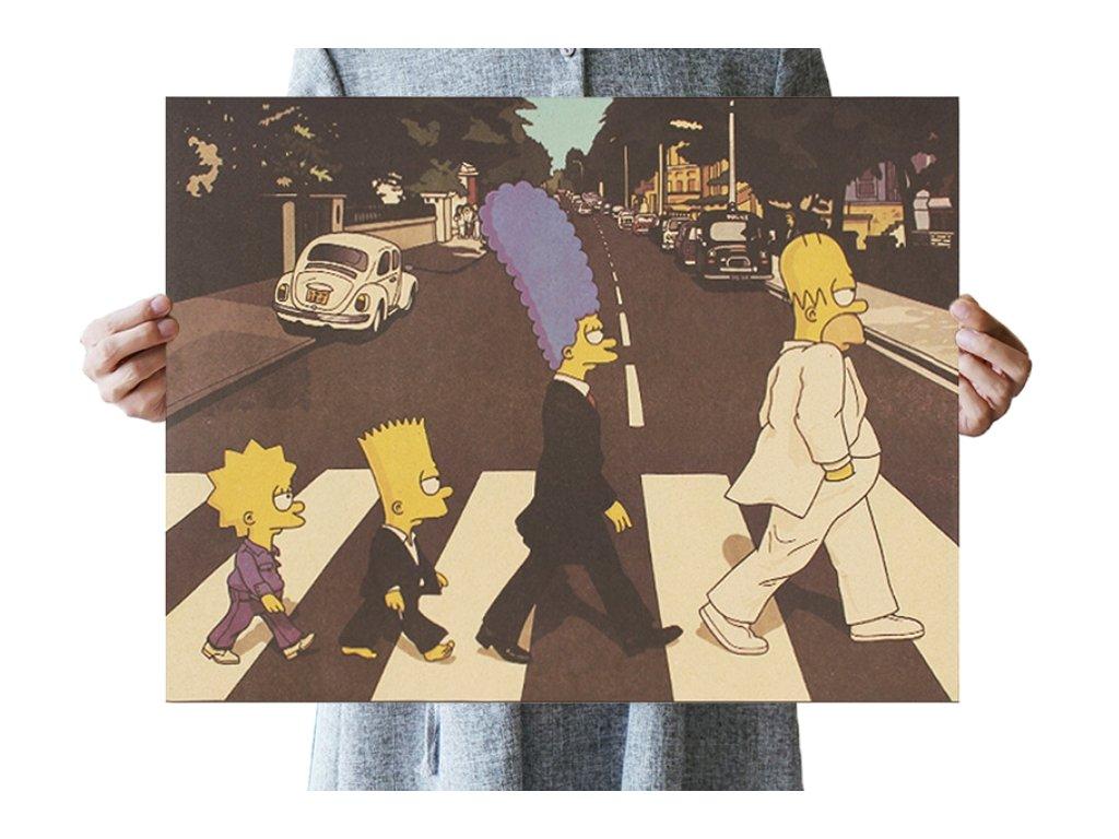 plakát simpsonovi
