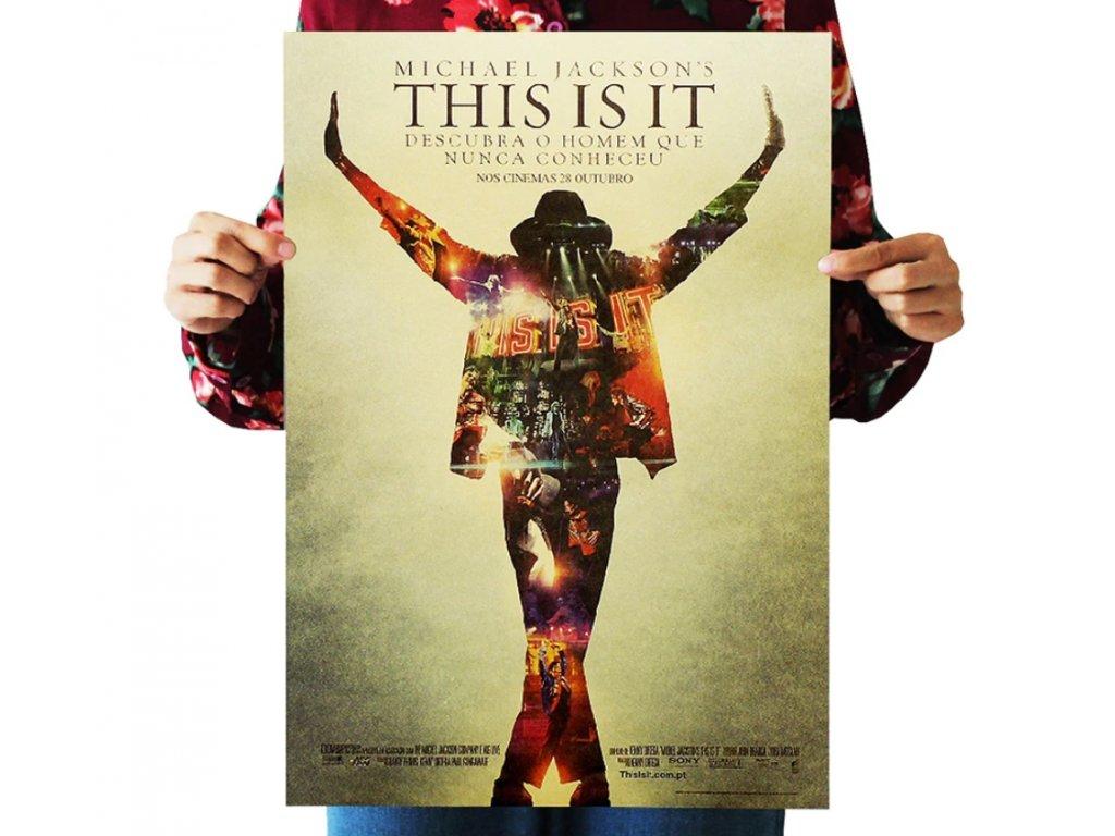 plakát michael jackson