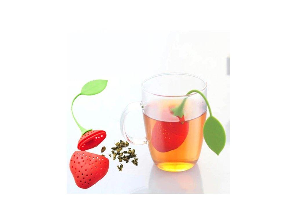 tea infuzor jahoda