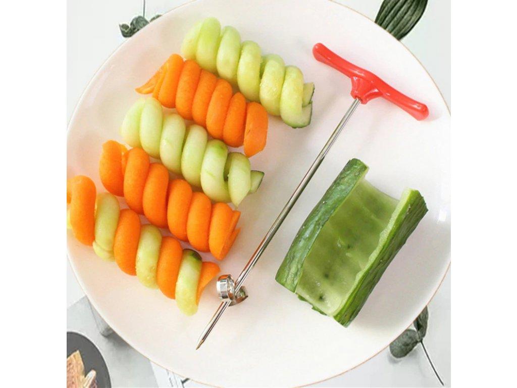 spirála na zeleninu