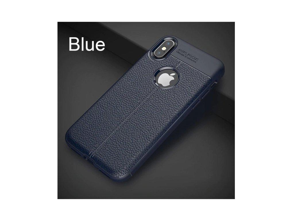 kožený kryt iphone blue