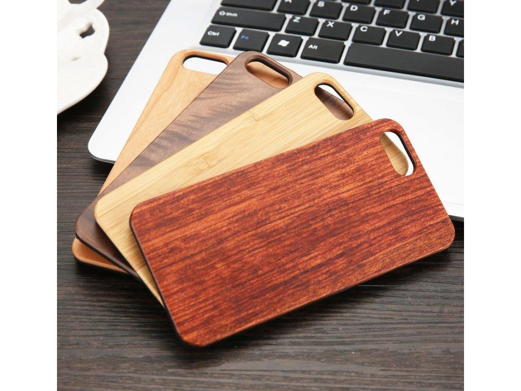 dřevěný kryt iphone