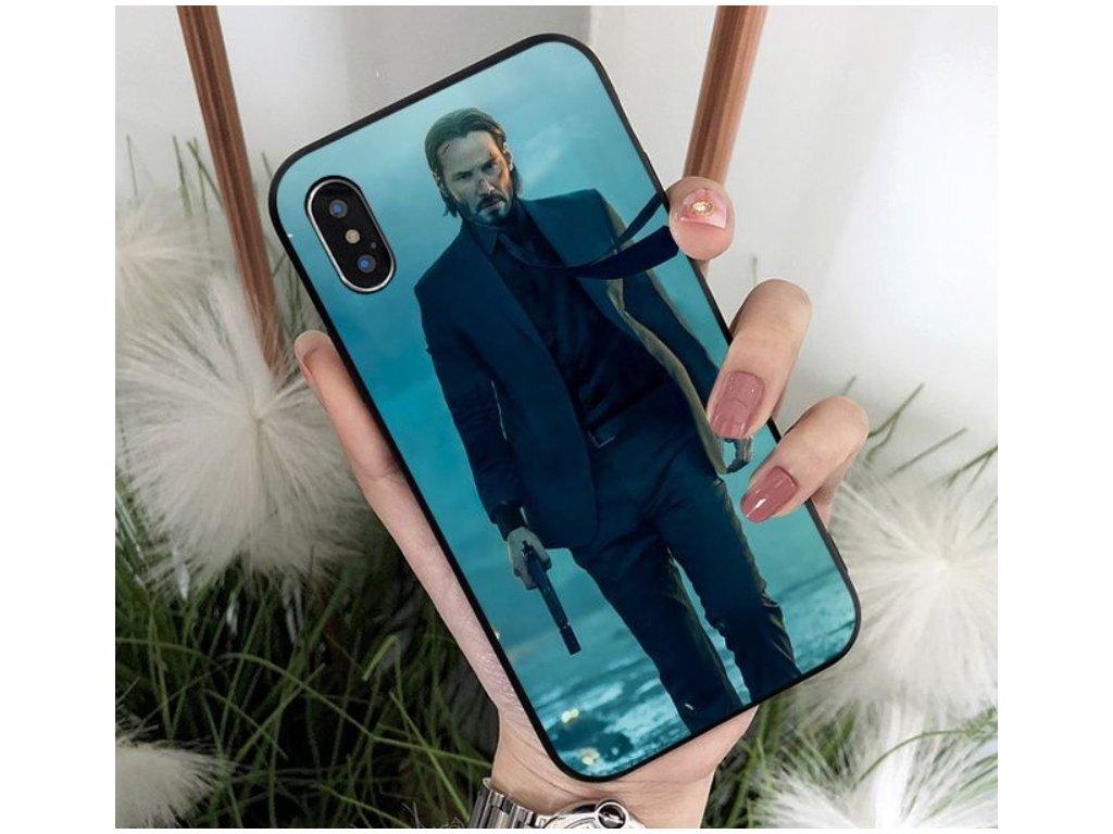 iphone case john wick blue
