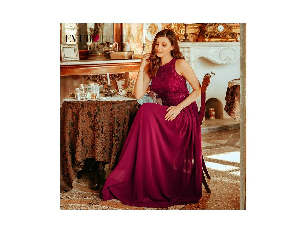 plesové šaty red 2