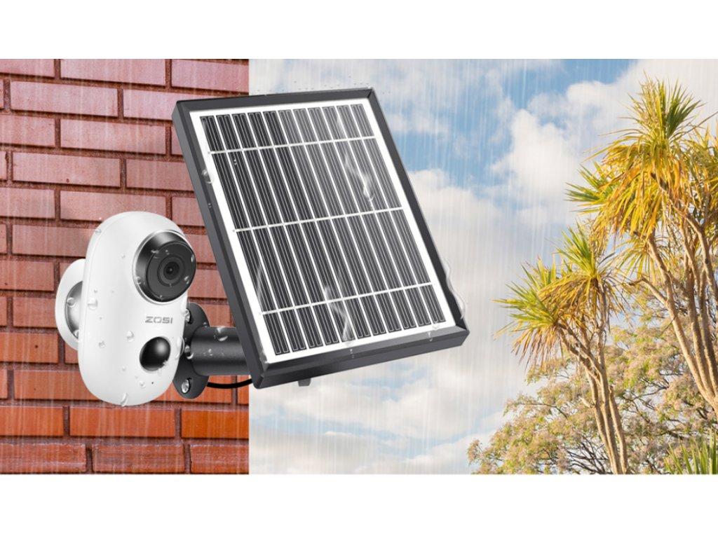 kamera bezpečnostní solar 4