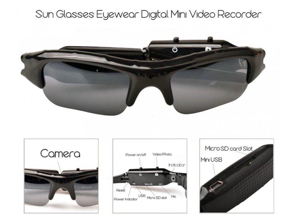 Kamera brýle