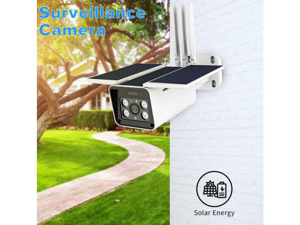 solarní kamera