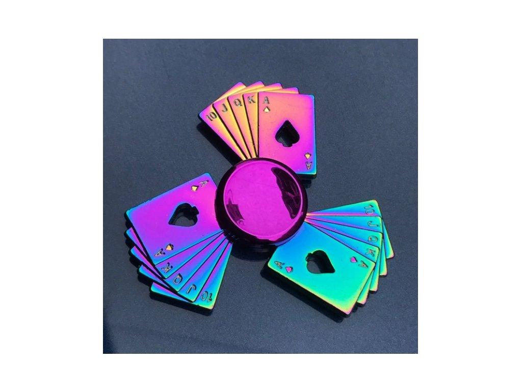 Fidget spinner Poker
