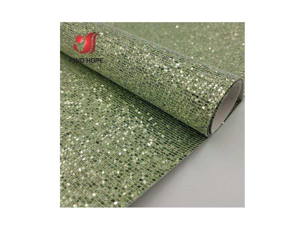 třpitivá látka zelená