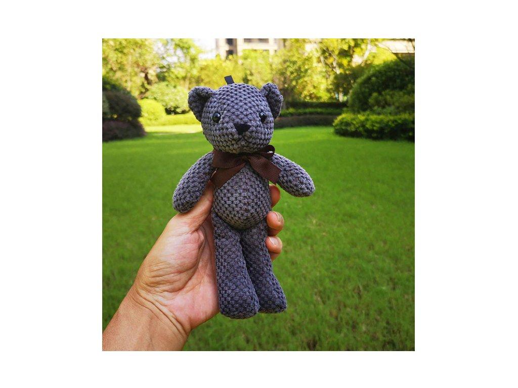 medvidek tmavě šedý