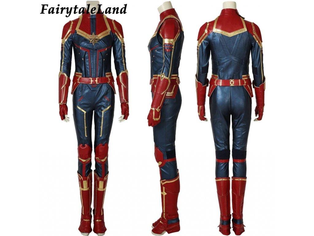 kapitan marvel oblek