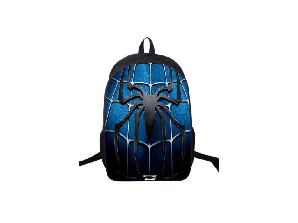 spiderman batoh blue