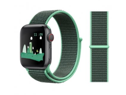 řemínek apple watch green