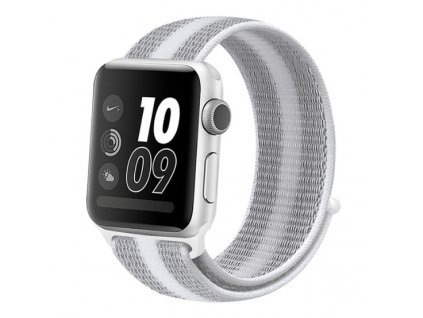 řemínek apple watch bílý