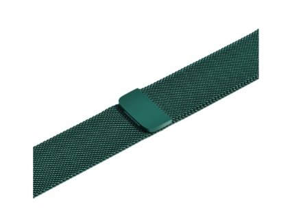 řemínek apple watch kovový green