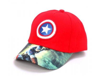 kapitán amerika čepice
