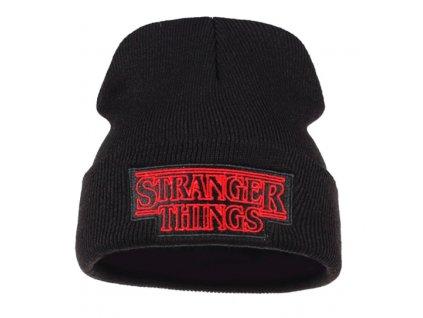 zimní čepice stranger things