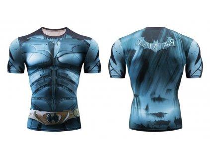 fitess tričko batman