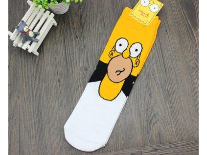 ponožky simpsnovi homer