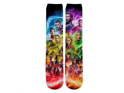 ponožky avengers sestava